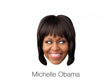 Michelle Obama papmaske
